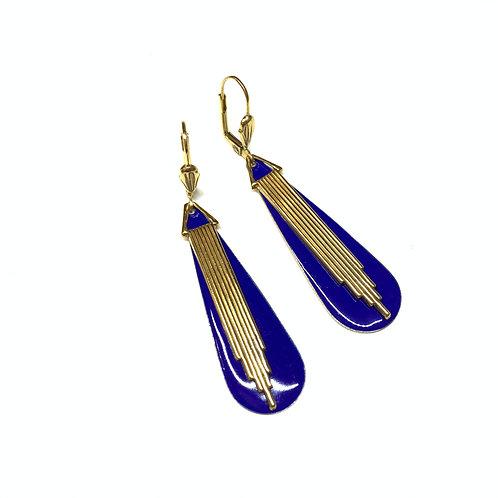 Boucles Odilon bleues