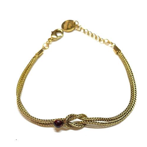 Bracelet Diane grenat