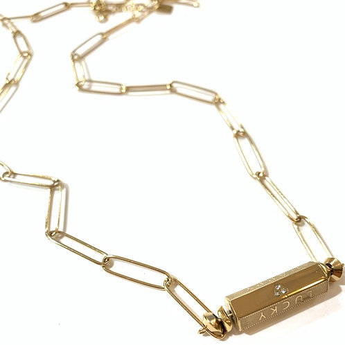 Sautoir talisman chaîne