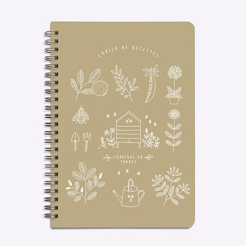 Cahier de recettes jardin kraft