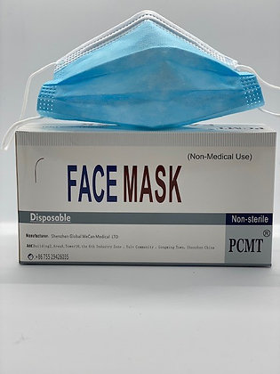 Non Surgical Face Mask (50 pack)