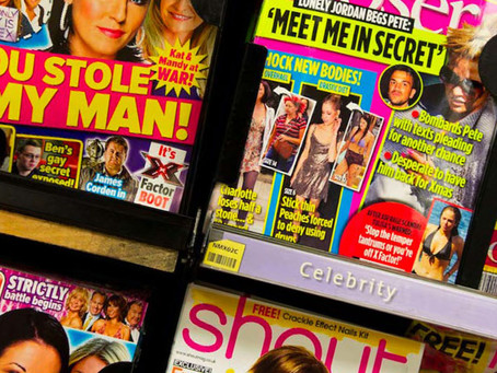 Why are we ditching the gossip magz