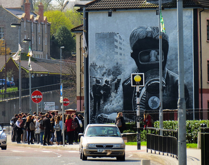 'The Bomber' - The Bogside Artists
