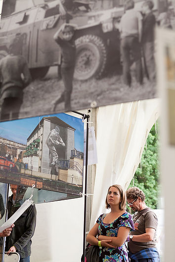 'Art, Conflict & Remembering: The Murals of the Bogside Artists' - Greenbelt Festival, August 2015