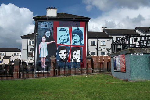 'Hunger Strikes' - The Bogside Artists