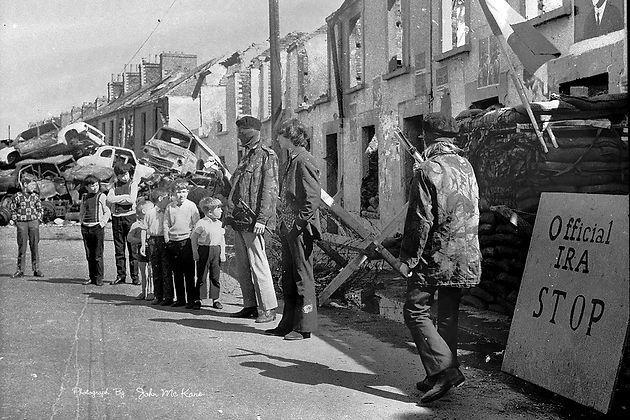 IRA checkpoint (Credit: John McKane)
