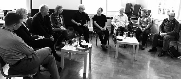 Panel discussion on 'Art, Conflict & Remembering: The Murals of the Bogside Artists' exhibition Coventry 2017