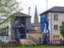 'Motorman' and 'The Runner' - The Bogside Artists