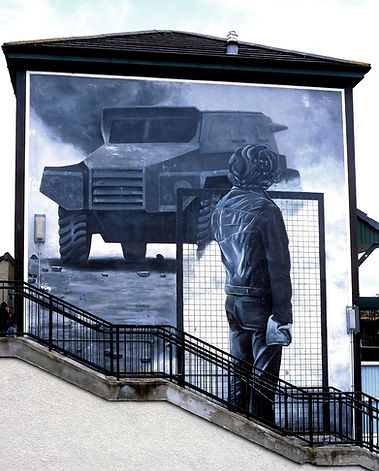 'The Rioter' - The Bogside Artists