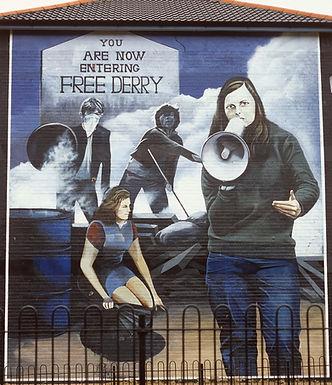 'Bernadette' - The Bogside Artists
