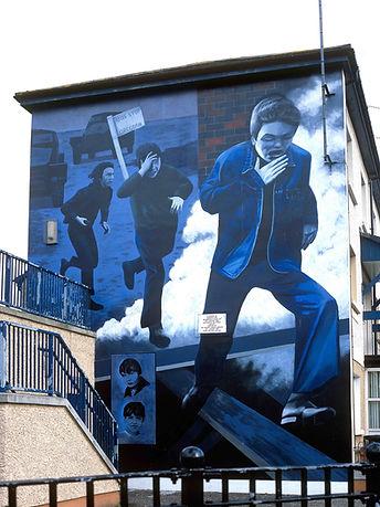 'The Runner' - The Bogside Artists