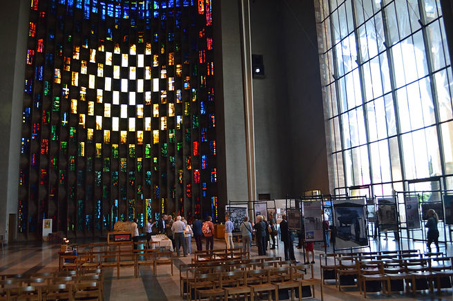 'Art, Conflict & Remembering: The Murals of the Bogside Artists' - Coventry Cathedral, May 2017