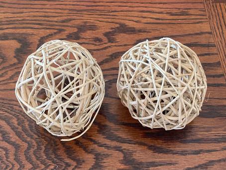 DIY Bird Nesting Balls