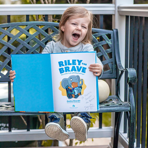 Riley the Brave - personalized signed copy