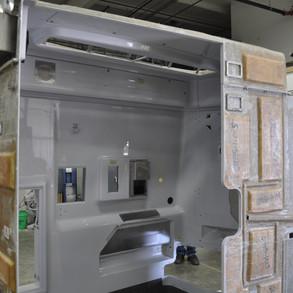 Fiberglass Bathroom Module