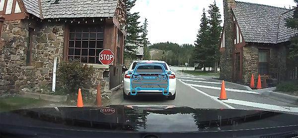 dash cam Thinkware installed London Autodynamics best image capture