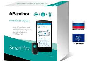 Pandora Smart Pro V2 Cat 1 car alarm fitted by Autodynamics best prices works with iphone and android