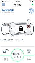 Pandora Smartphone bluetooth app supplied by London Autodynamics