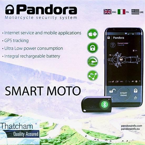 Pandora Smart Moto Thatcham 1 GSM Alarm & Tracker