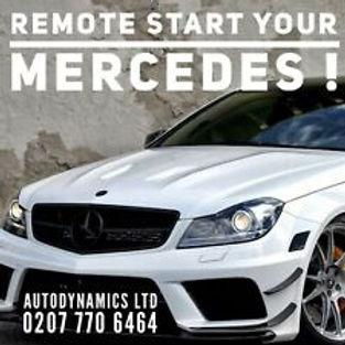 mercedes remote engine start  fitted London no key needed best price autodynamic