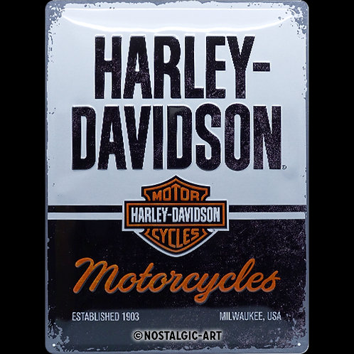 Harley-Davidson Motorcycles 30x40 cm