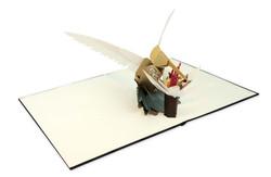Kolibri Pop up, Hummingbird, cut out
