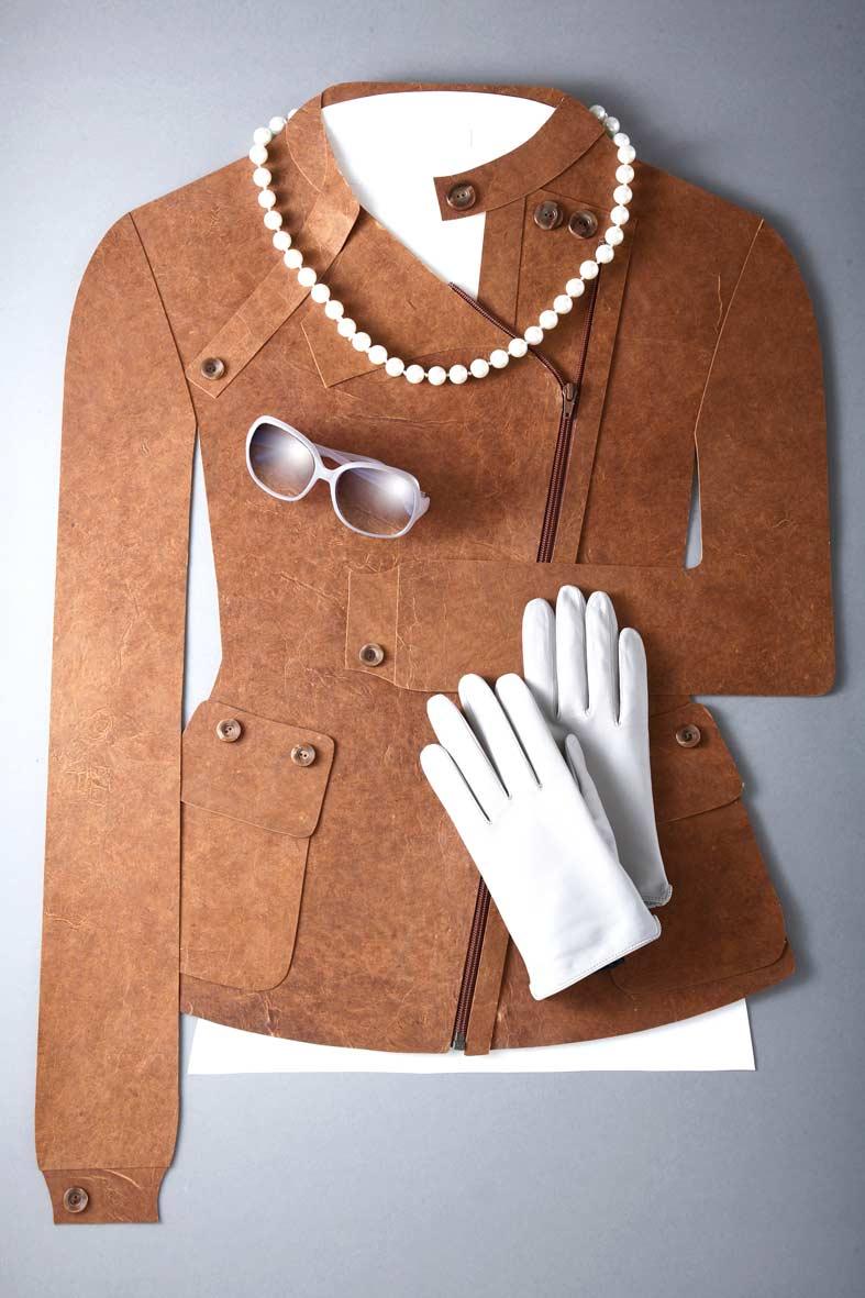 Papierdesign, paper art fashion,