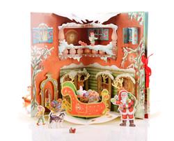 Pop up Karussell Weihnachten