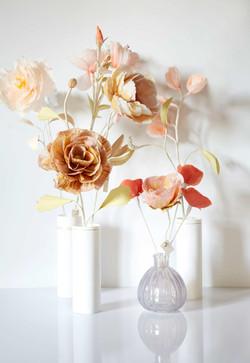 paper art flower, PapierDesign Blume