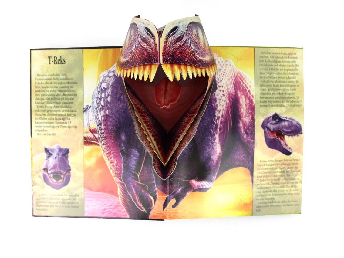 pop up Dinosaurier