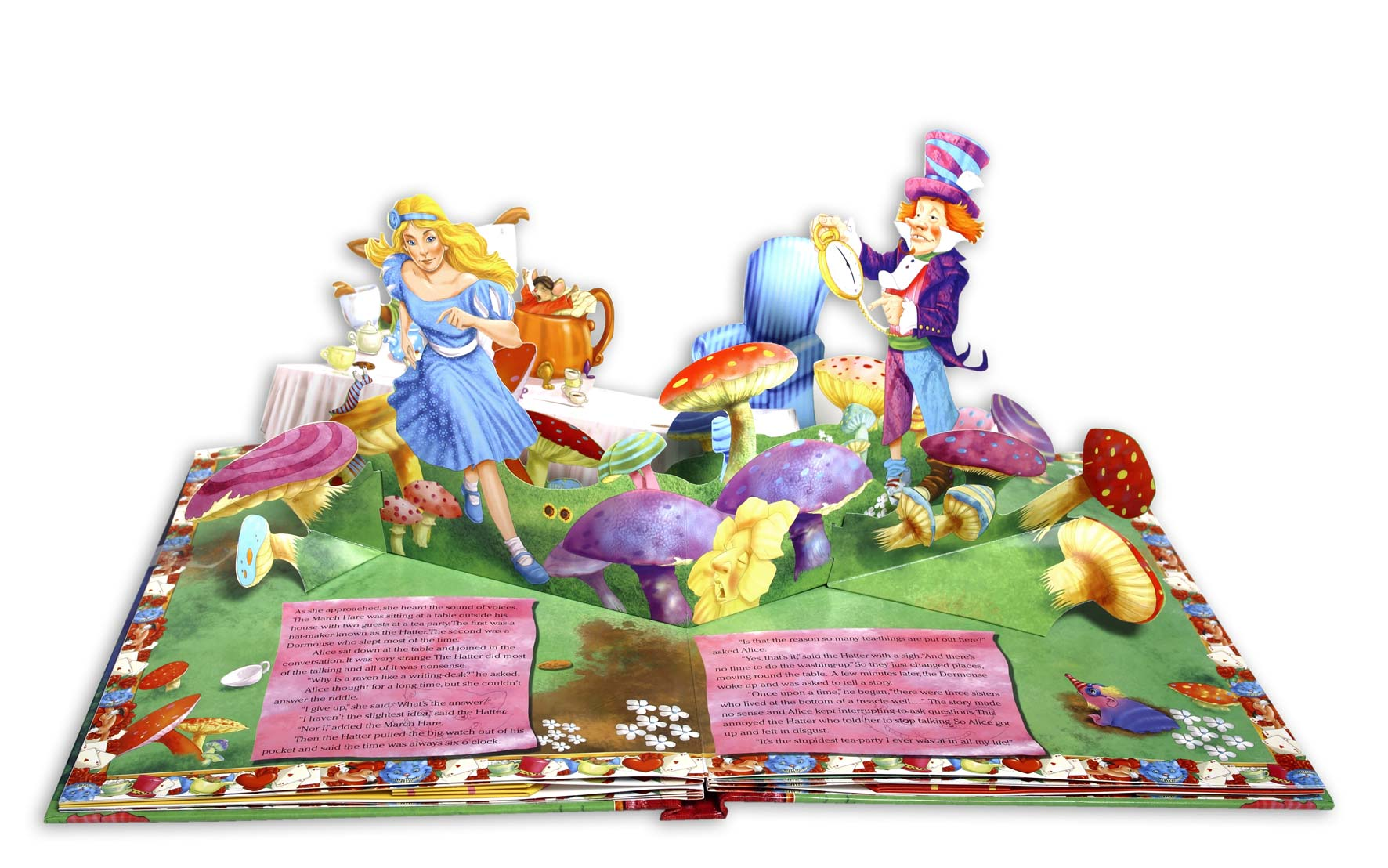 Alice POp up book