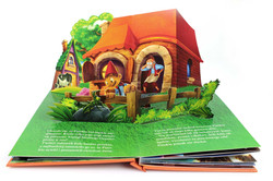 POp-up Pinocchio, pop up book