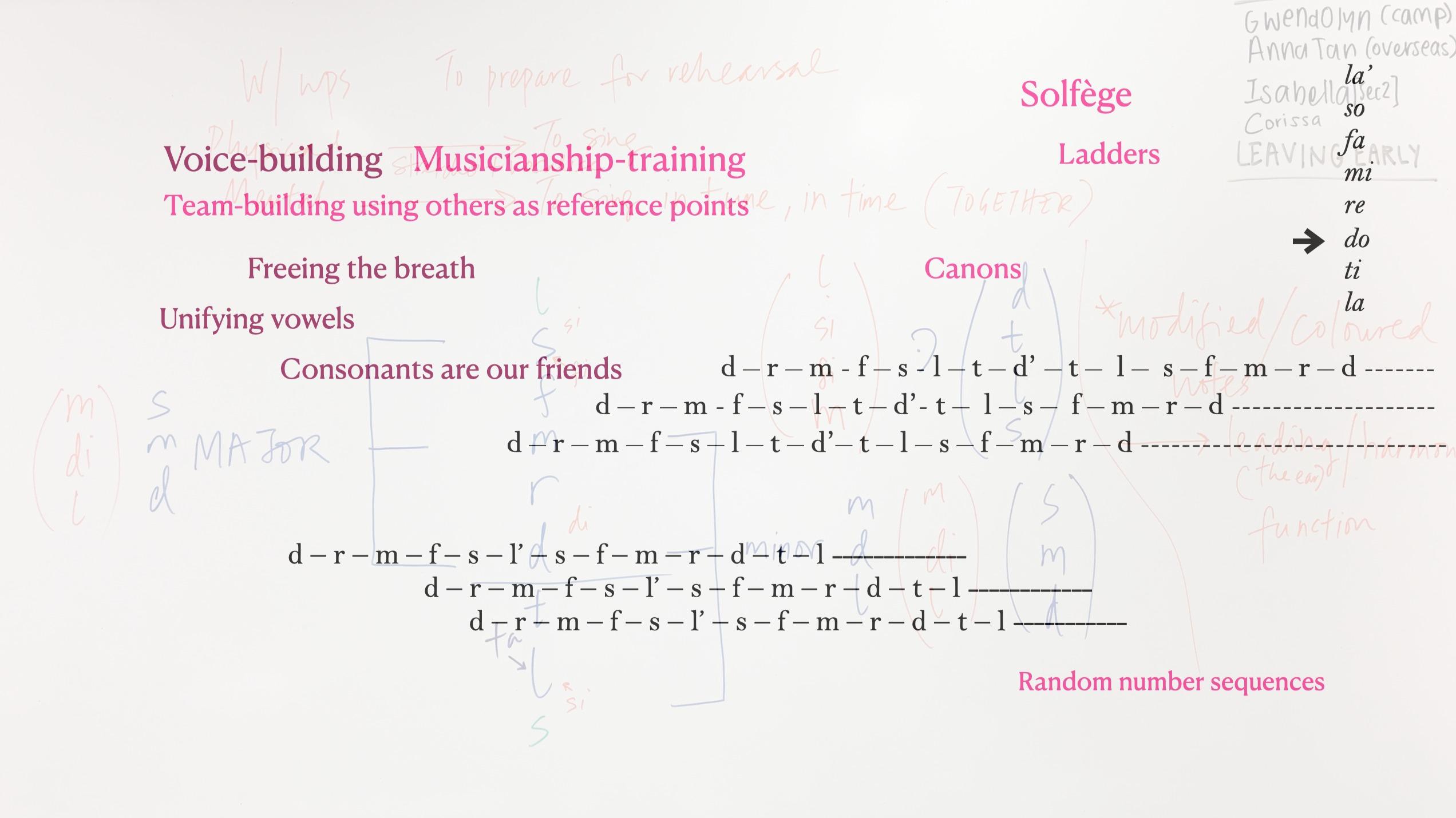 Tham Musicianship - Solfege canons