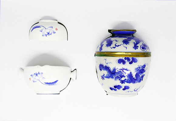 Chinoiserie Candle Set