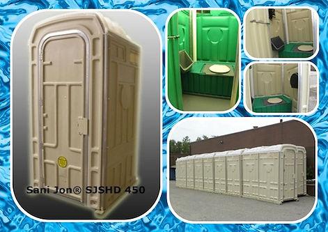 Larger, Heavy Duty, Porta Potty, Porta John, Portable, Sanitation