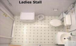 Women's Lavatory Stall