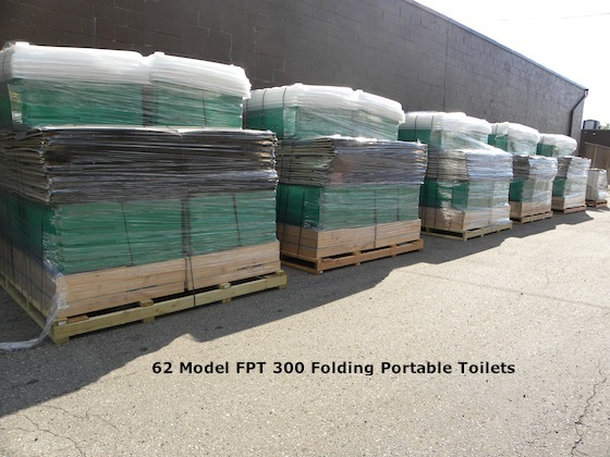 Folding Portable Toilets FPT300