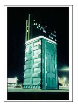 Folding Portable Toilet