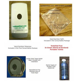 Consumables for Portable Toilets
