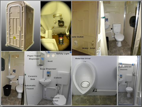 Sani Jon® Comfort Stations