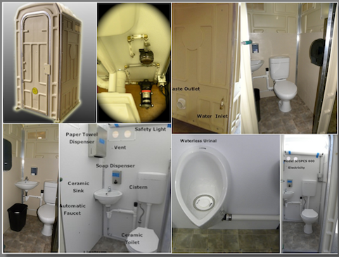 Flush Toilet, Hand Wash, Fresh Water, Hygienic, Safe