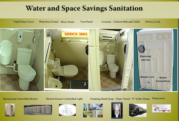 Water saving sanittion