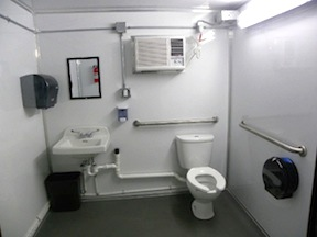 inside View - ADA Compliant Stall