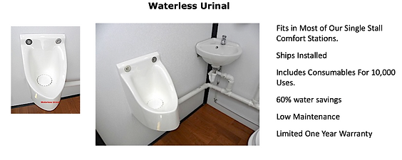 Water Saving No Flush Urinal