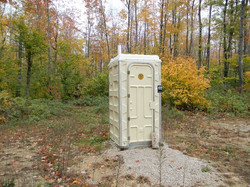 Model GJ 350 Portable Toilet
