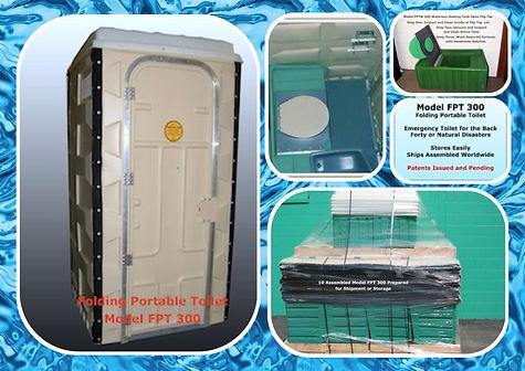 Folding Porta Potty