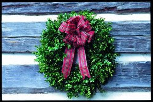 Boxwood Double Sided Wreath