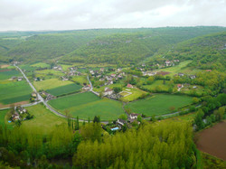 Brengues,village