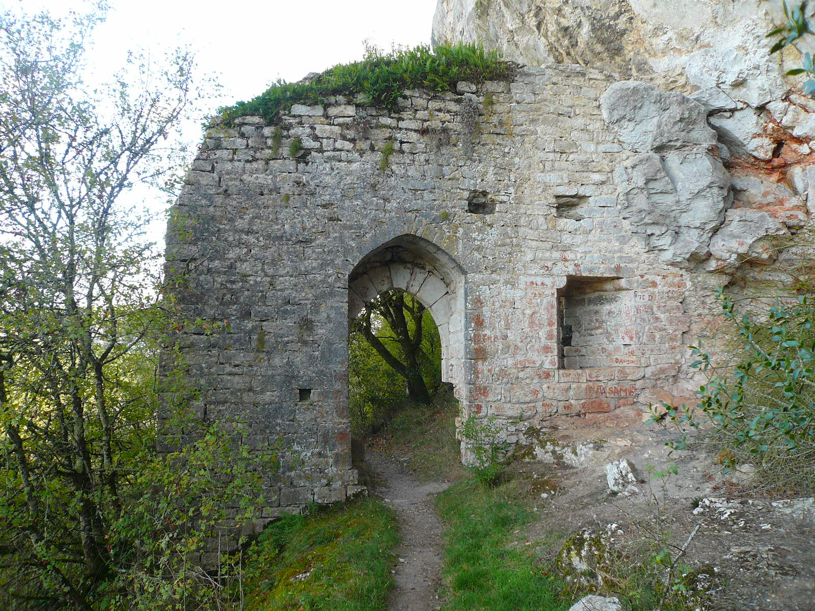 Porte du château des Anglais