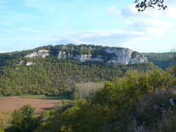 Brengues,roc de Lagane